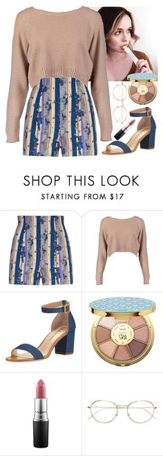 """""""video w/ acacia"""" by baeisme ❤ liked on Polyvore featuring Brinley Co, Boohoo, Neiman Marcus, tarte, MAC Cosmetics and RetroSuperFuture"""