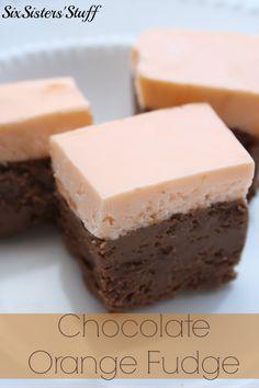 Chocolate Orange Fudge is my new favorite fudge. It's so easy to make and tastes AMAZING.