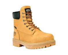 Timberland PRO Waterproof 6-inch Wheat Safety Toe #footwear #armynavyoutdoors