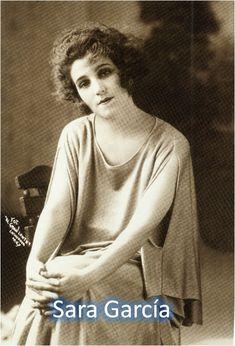 A young Sara Garcia