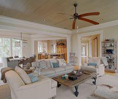 coastal living room - Wayne Windham Architect