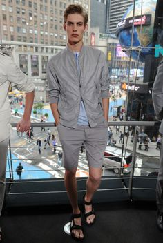 Spr'12 Trends: Bare Legs- DKNY Mens