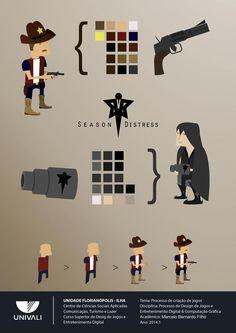 Season Distress: Game Concept Design (Character Design)