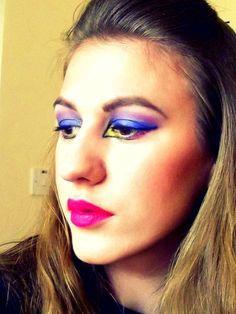 With Glam You Can Rock It :) http://www.makeupbee.com/look.php?look_id=63452