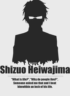 ¿qué es la vida? , ¿por qué la gente vive? alguien me preguntó eso y lo golpeé dentro de una pulgada de su vida