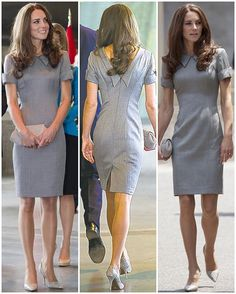 I hope the Duchess repeats this Catherine Walker dress she wore in Canada 2011; it's so flattering on her! What do you think?