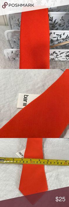Bar Iii Solid Bright Orange Men S One Usa Size