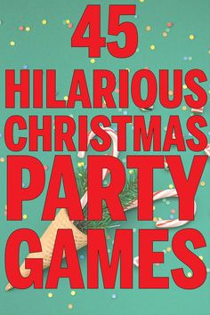 Hilarious Christmas party games for all ages and occasions! Minute to win it games, funny gift exchange ideas, games for kids, and even games for a work party! Perfect for groups and office Christmas parties!