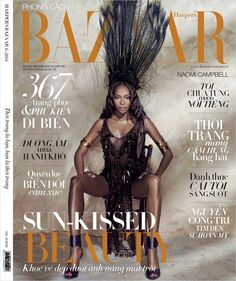 Naomi Campbell for Harper's Bazaar Vietnam by An Le
