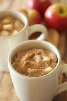 Apple Spice Mug Cake | Dashing Dish