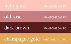 I love these colors. But I don't think that looks like dark brown--maybe more a brownish-burgundy