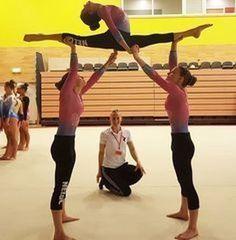 Risultati immagini per acro dance trio Flexibility Dance, Gymnastics Flexibility, Acrobatic Gymnastics, Gymnastics Workout, Flexibility Workout, Olympic Gymnastics, Olympic Games, Gymnastics Problems, Cheer Stunts