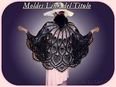 Delicadezas en crochet Gabriela: Chal de ganchillo