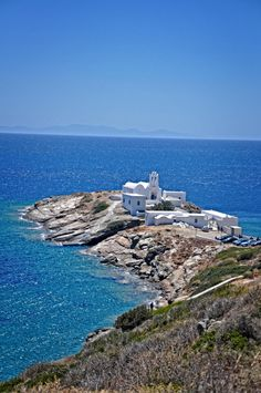 Sifnos Island of Hellas! Mykonos, Santorini, Paros, Beautiful Islands, Beautiful Places, Places In Greece, Greek Isles, Voyage Europe, Greece Islands