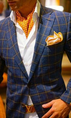 #blazer #scarf #pocket square #belt