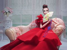 Monogram and Red dress | Flickr - Photo Sharing!