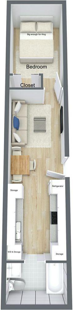Casa container 1 quarto