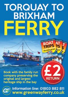 There are lots of great places to explore in the local area! Why not catch the boat across the bay to Brixham, a working historic fishing port.