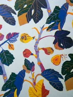AM on The Present Tense: Josef Frank textile designs.