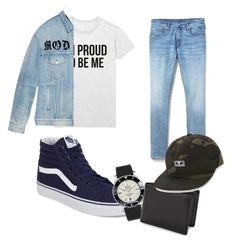 """Untitled #12"" by ssamson-1 on Polyvore featuring Gap, Gucci, Vans, Breitling, Bosca, OBEY Clothing, men's fashion and menswear Breitling, Gap, Men's Fashion, Gucci, Menswear, Clothing, Polyvore, Moda Masculina, Outfits"