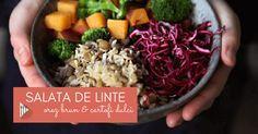 Salata din linte, orez brun, cartofi dulci si varza rosie Diabetic Meal Plan, Low Carb Meal Plan, Zucchini Alfredo, Oreo Brownies, Cookies And Cream, Brownie Recipes, Low Carb Recipes, Broccoli, Meal Planning