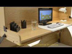 StudyBed – Desk and Bed combination – Deskbed - Studybed
