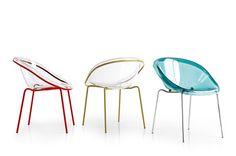 Silla de policarbonato by Calligaris | diseño Archirivolto