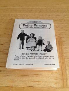 Vintage Petite Princess Fantasy Furniture 1964 Brochure Catalog Dollhouse | eBay
