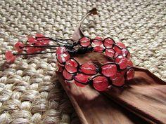 Kit pulseira shambala de Quartzo cherry!