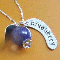 BlueBerry Necklace by sudlow on Etsy