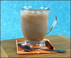 Skinny iced Chai tea- only 40 cals!
