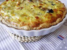 Quiche de Frango e Morcela Quiches, Pizza, Yummy Food, Cheese, Chicken Quiche, Food, Tarts, Delicious Food, Pies
