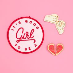 bffs are obviously the best. so we put together this neat little flair pack that celebrates 'em! sneak a pin onto your friend's jacket or start an awesome girl power collection. pinky promise: - 2 in.