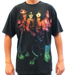 90s Kiss Alive Tour Tee XL