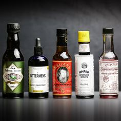 5 Super Useful Bottles of Bitters You Should Absolutely Own: No home bar arsenal is complete without these aromatic additives.