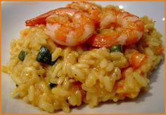 Smoothie recipes 396387204680817339 - Risotto crevettes et courgettes Source by dansvosreves Italian Snacks, Italian Recipes, Shrimp Risotto, Paella, Healthy Snacks, Healthy Recipes, Healthy Smoothie, Smoothie Recipes, Appetizers