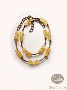 Madó Luaces : Un collar largo y dos formas de lucirlo