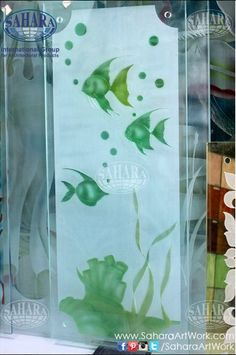 We also provide digital printed glass with the design of your choice!