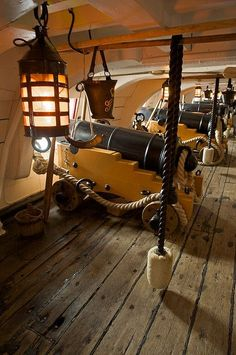 HMS Victory, Portsmouth, England by JC Richardson, via Flickr