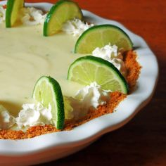 Key Lime Pie - The Daring Gourmet