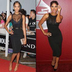 JOURDAN VS. TONI  En los Glamour Women of the Year Awards en Londros, en junio, Jourdan Dunn lució este sexy vestido de la colección Primave...