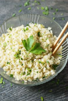 Fast, fluffy, and full of flavor, try my Cauliflower Rice 3 Ways: Basic, Coconut-Lime, and Asian-Style. Simple, fabulous, and healthy!