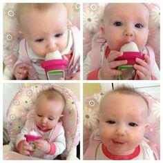 breast milk popsicle, great for teething