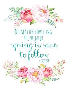 19 Best Spring Inspired Quotes - QuotesHumor.com
