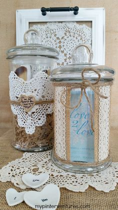 Mother's Day Vanity Jars