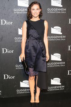 Guggenheim International Gala, New York - November 7 2013  Natalie Portman in Dior.