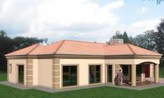 Best 4 Bedroom House Plans In Kenya House Plans For Sale, Free House Plans, Family House Plans, House Floor Plans, House Floor Design, Bungalow House Design, Small House Design, House Plans With Pictures, House Design Pictures