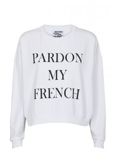 Pardon My French.