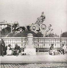 Plaza Cibeles, Madrid.  (www.madridantiguo.org)