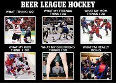 Beer League Hockey